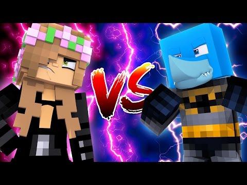 CATWOMAN VS BATMAN   Noob Vs Pro   Minecraft Little Kelly w/Sharky