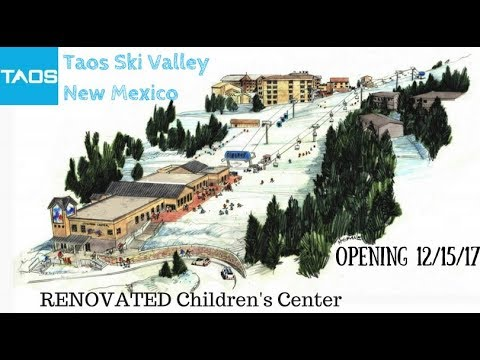 Taos Ski Valley: PREVIEW Renovated Childrens Center Opens 12/15/17
