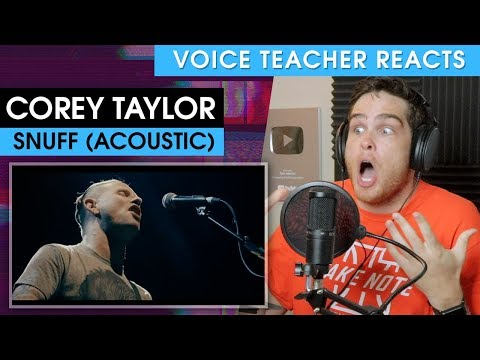 Voice Teacher Reacts to Corey Taylor - Snuff mp3