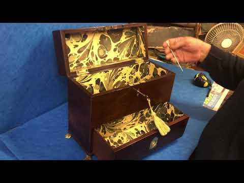 Antique Gentlemen's Jewellery box For Sale Online