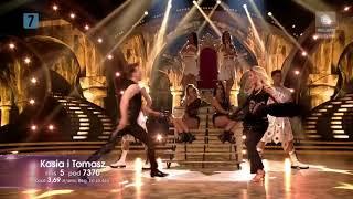 Dancing With The Stars. Taniec z gwiazdami 8 - Półfinał - Kasia i Tomek