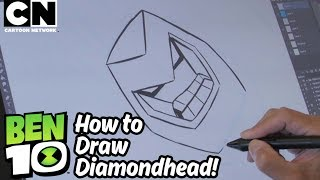 Ben 10 | How to Draw: DIAMONDHEAD | Cartoon Network
