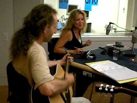 Singing on Lugano, Switzerland Radio During Interview - Sheri Pedigo