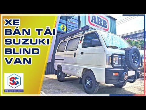 Giới thiệu xe bán tải: SUZUKI BLIND VAN [Tải 495kg] | Ô TÔ CHUYÊN DÙNG SÀI GÒN - Thông tin chi tiết về xe Suzuki