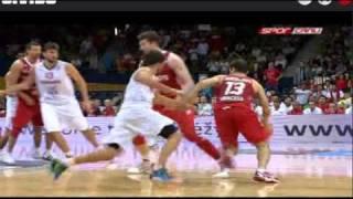 Türkiye - İspanya 2011 Avrupa Basketbol Şampiyonası Son 1 dakikası