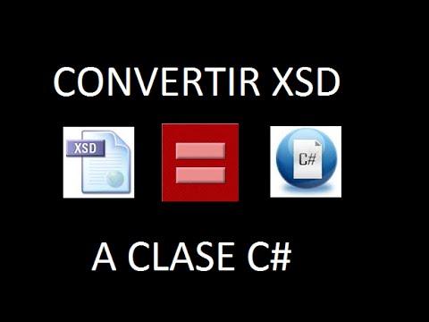 Generar clase C# con XSD