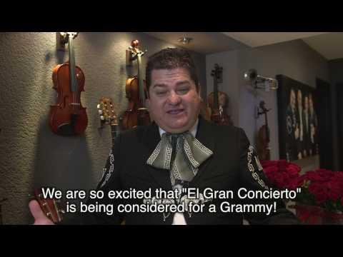 Mariachi Vargas - El Gran Concierto Interviews - Carlos Martínez
