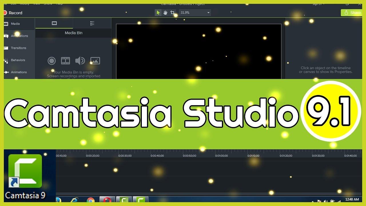 Camtasia Studio 9.1 - Bộ Quà Tặng 15 Template Intro Youtube Dành Cho Camtasia 9.1
