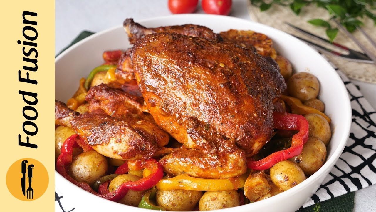 Peri Peri whole Chicken Recipe By Food Fusion (Eid Special Recipe)