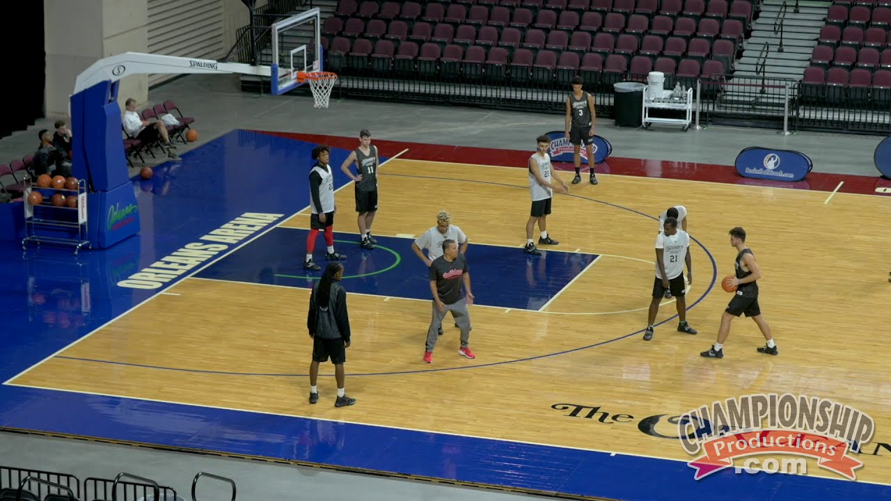 Train to Guard the 4-Out, 1-In Offense Using the Shell Drill for Basketball!