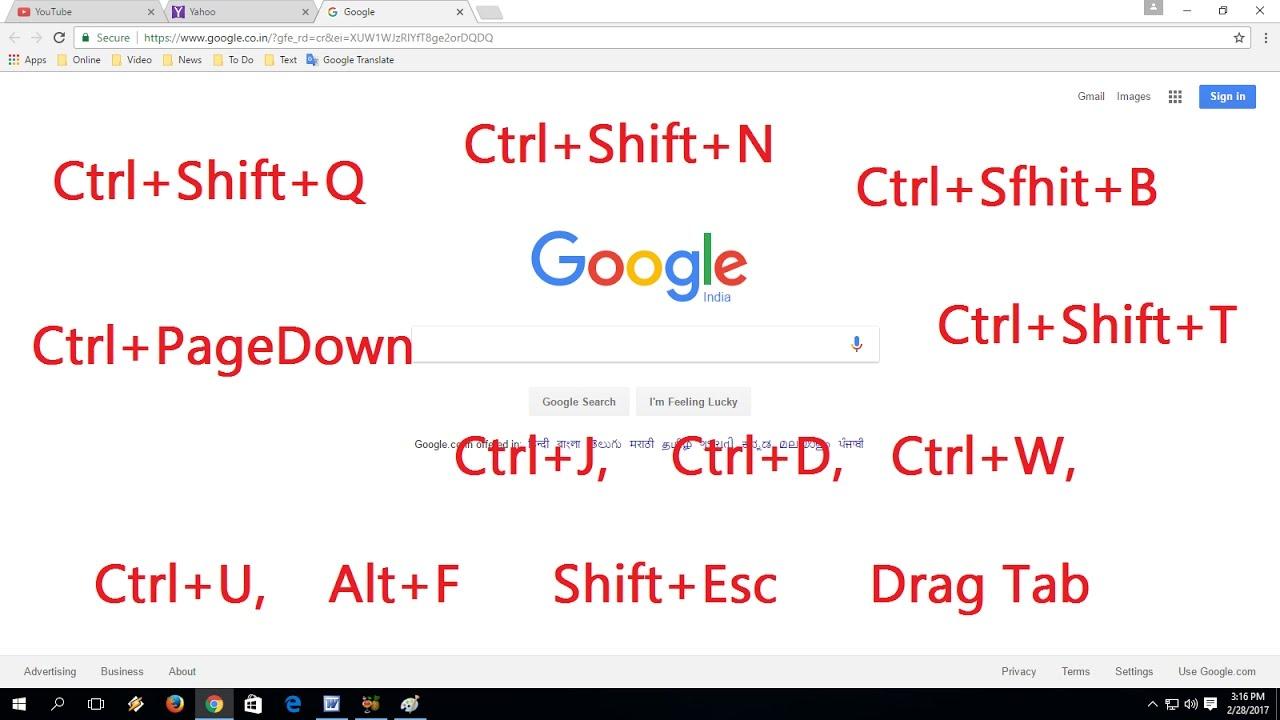 ctrl shift q