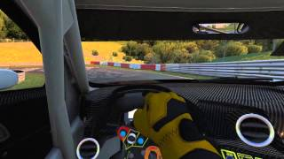 NÜRBURGRING onboard Audi R8 LMS on the Nordschleife in iRacing