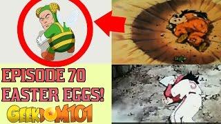 Dragon Ball Super Episode 70 Easter Eggs!