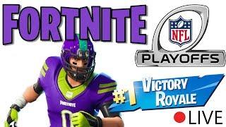 FORTNITE NFL PLAYOFFS! BEST FORTNITE SKINS + NEW UPDATE!