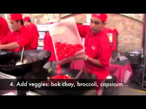 Flying Woks, Wok Catering, Delicious Tom Yum.m4v