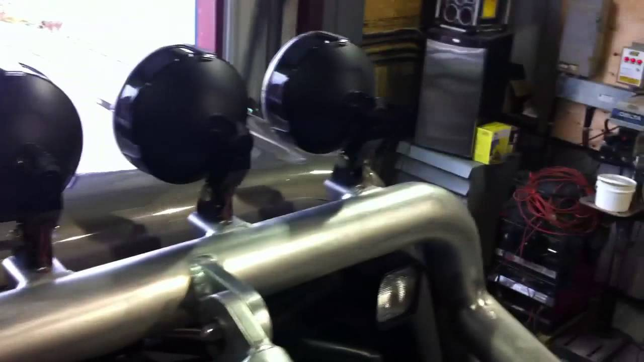 Badass Roll Bar Ford F350 Youtube