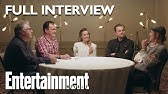 Once Upon A Time In Hollywood Roundtable: Brad Pitt, Leonardo DiCaprio, MoreEntertainment Weekly