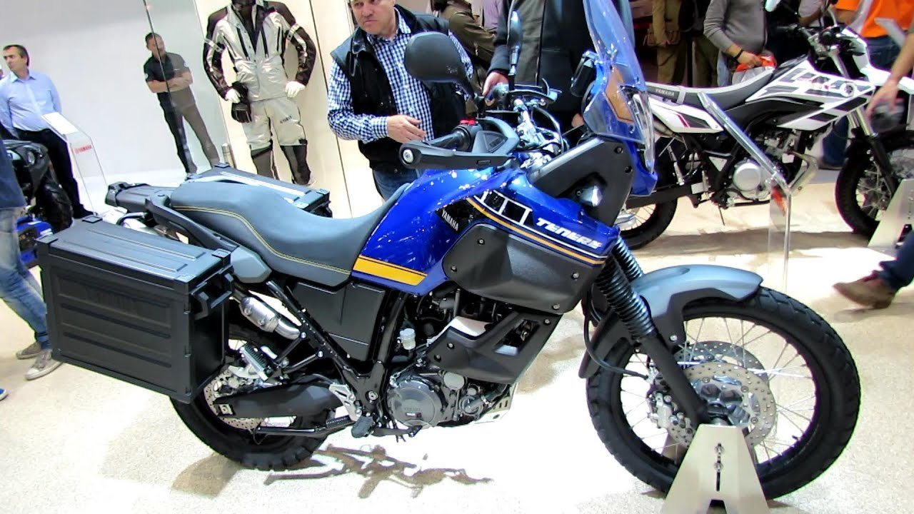 2014 yamaha xt660z tenere walkaround 2013 eicma milano. Black Bedroom Furniture Sets. Home Design Ideas
