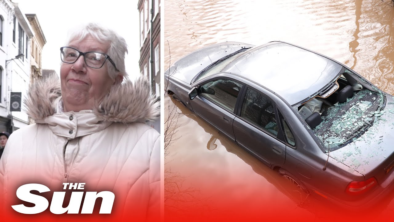 UK weather forecast - Fears flood defences won't hold as MONTH'S ...