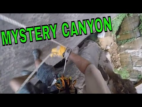 Canyoneering Mystery Canyon(Weeping Rock Approach), Zion National Park, Utah