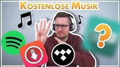 KOSTENLOS und LEGAL Musik downloaden 2019🎧 Die 3 BESTEN Wege