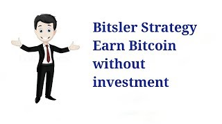 My Bitsler strategy ! earn 1 BTC without investment