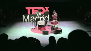 Music from a suitcase with wheels | Le Parody | TEDxMadrid