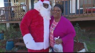 Santa, Macon restaurant deliver hams to veterans and seniors