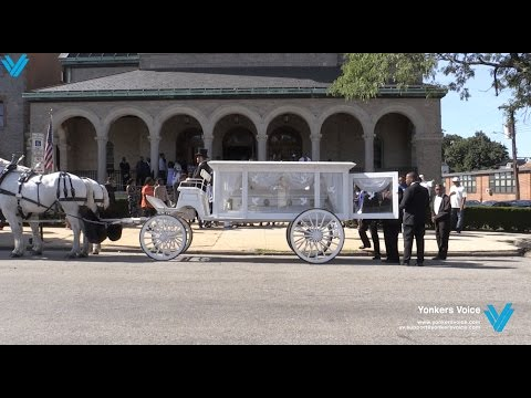 Funeral Service for the Yonkers woman killed in Antigua