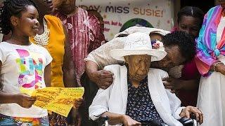 Старейшая жительница планеты не пьёт, не курит и хорошо спит