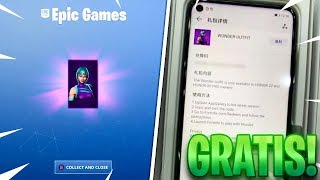 "How to get the NEW EXCLUSIVE SKIN ""WONDER"" FOR FREE! FORTNITE BATTLE ROYALE"