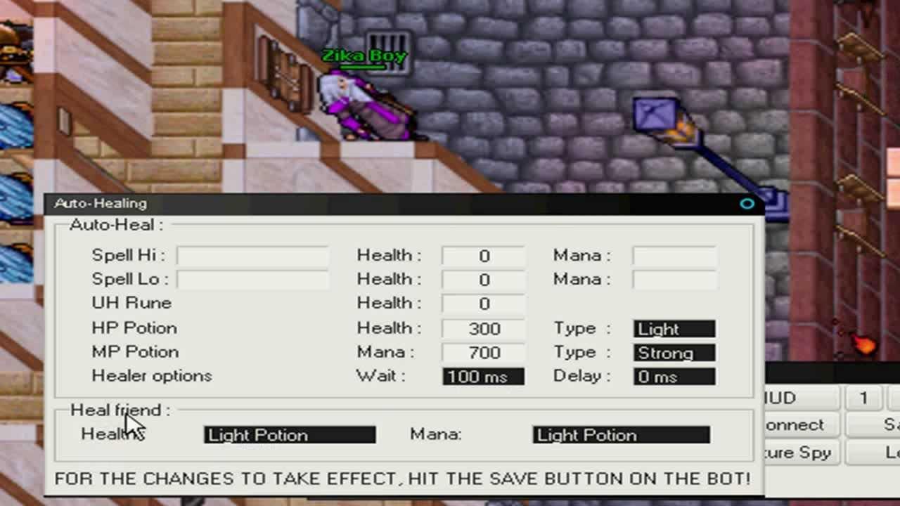 Tutorial Elf Bot: Healing