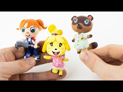 Animal Crossing New Horizons – Giveaway & Polymer Clay Tutorial