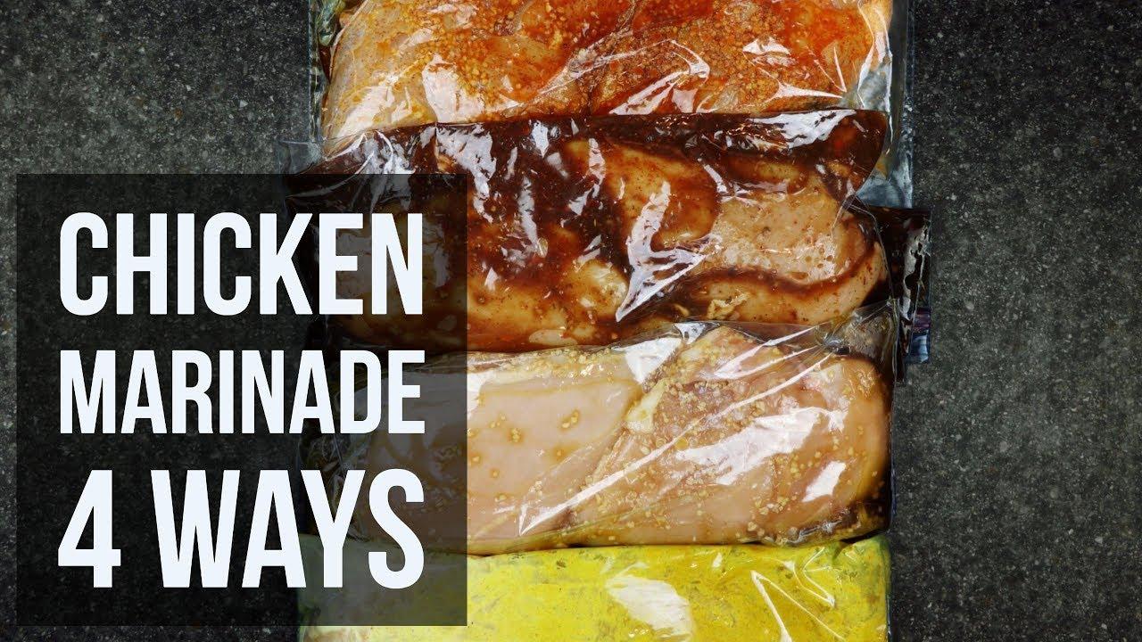 Chicken Marinade 4 Ways Easy Make Ahead Meat Marinade Recipes By
