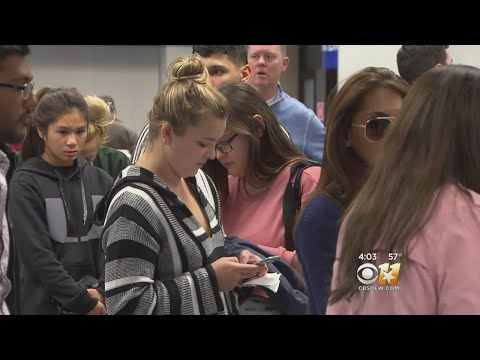 DFW Airport Passengers Cope With Cancellations, Delays Due To Severe Weather