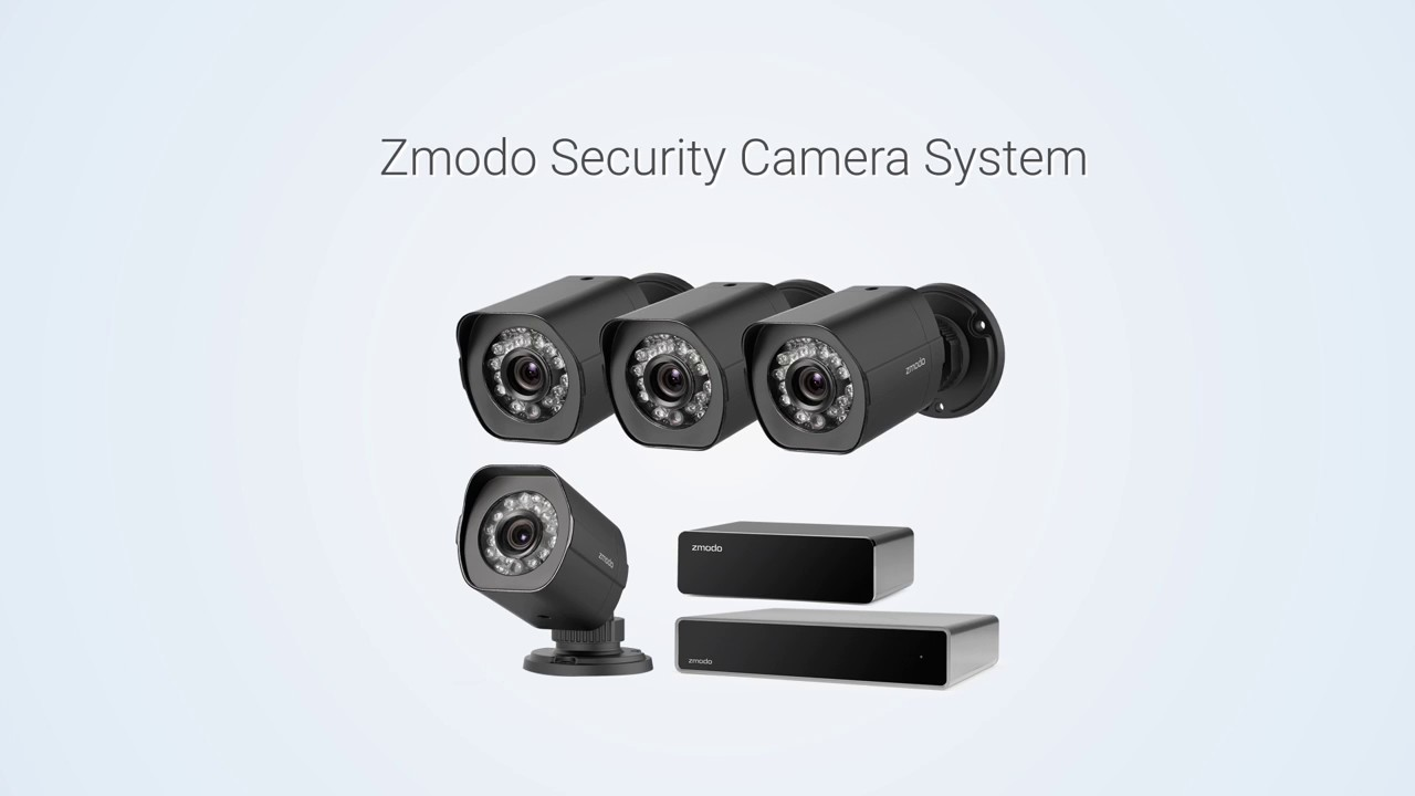 Zmodo 1080p Home and Business sPoE Security System