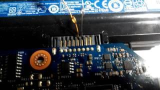 bq24725 (1часть)  включение контроллера зарядки вручную с компьютера