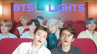 РЕАКЦИЯ С БРАТОМ НА BTS - Lights   Теория на подходе!