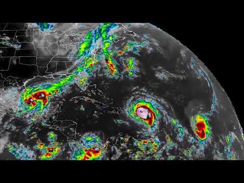Timelapse: Hurricane Irma's journey through the Atlantic