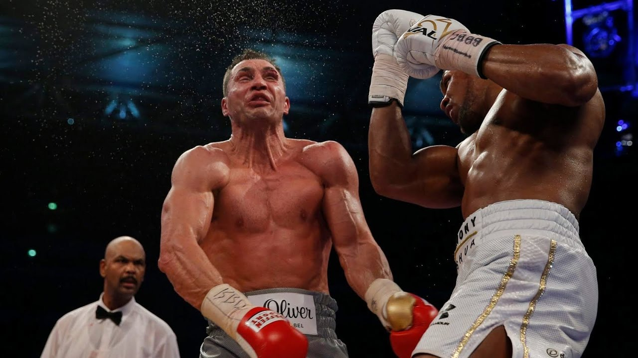 klitschko joshua highlights
