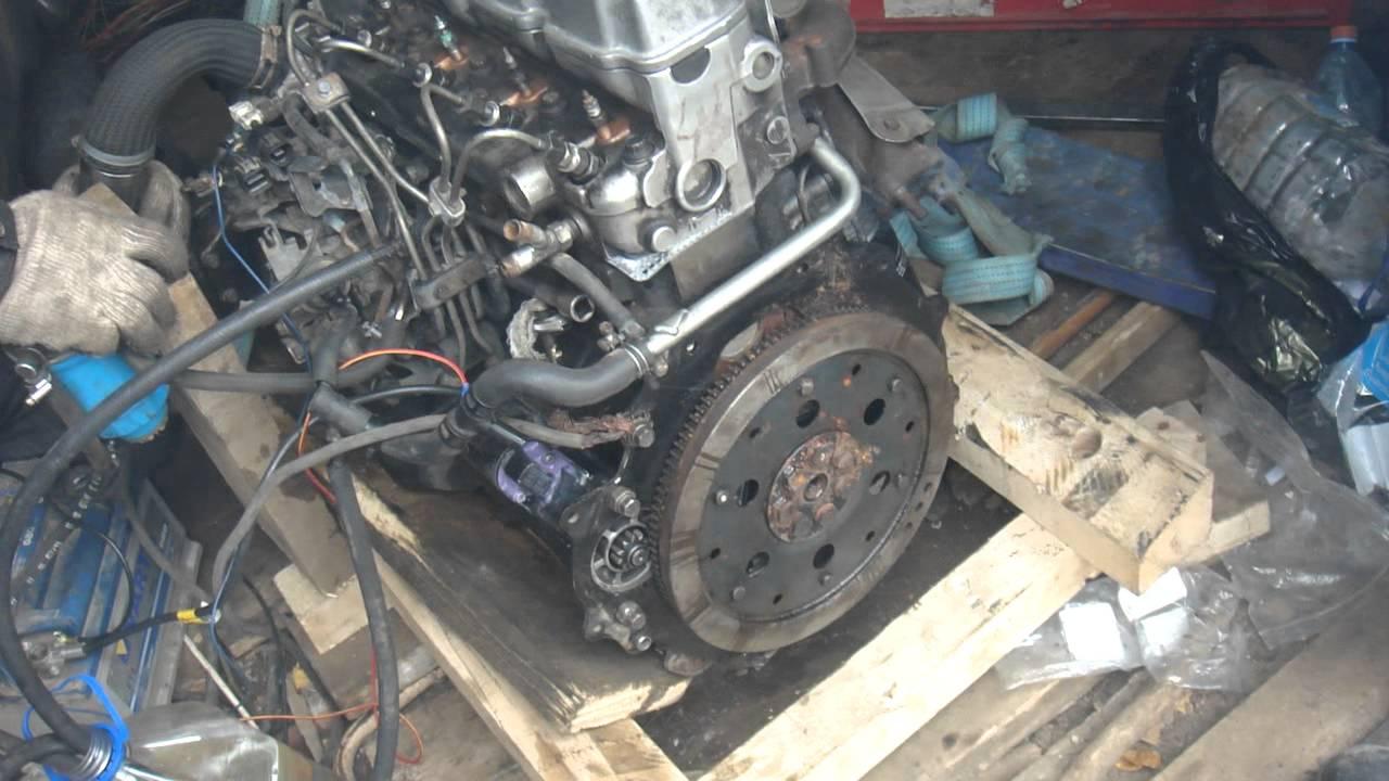 митсубиси делика двигатель 4м40 замена стартера