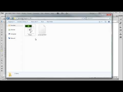 Javascript Dosyası Oluşturmak Ve Kullanmak