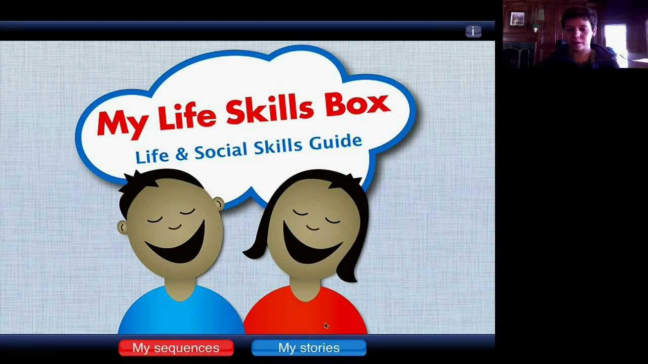 Workbooks life skills for teens worksheets : My Life Skills Box Special Needs App Review - API - YouTube