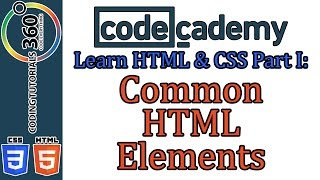 Common HTML Elements: Learn HTML and CSS Part I Codecademy Mp3