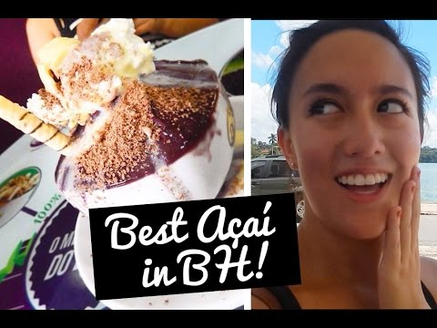 Best Açaí  in Brazil! - Belo Horizonte, Brazil Vlog