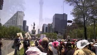 Marcha Anti peña nieto Mexico D.F. 19 de Mayo 2012