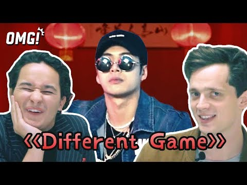 Londoners react to Jackson Wang's Differnt Game music video ft. Gucci Mane