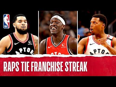 Best Plays From The Toronto Raptors 11 Game Winning Streak   2019-20 NBA Season