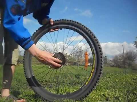 Как снять трещетку на велосипеде