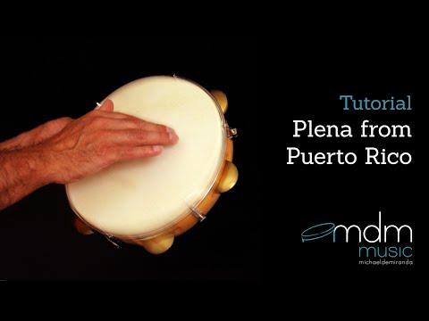 Plena from Puerto Rico, free lesson